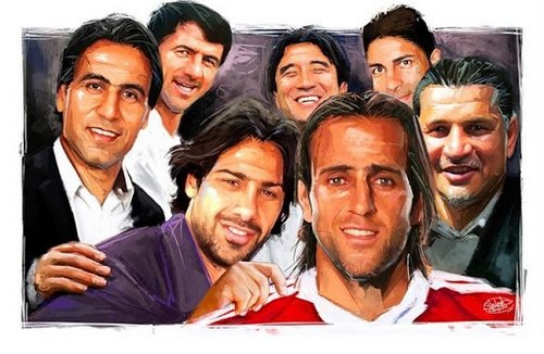 10 بازیکن برتر فوتبال ایران